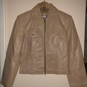 Michael Hoban Izza Leather Jacket/Blazer